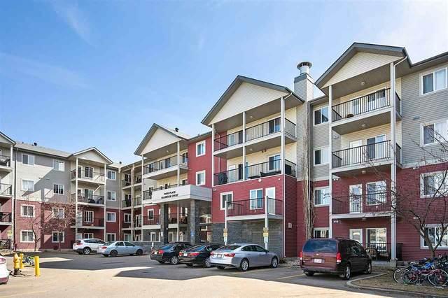203 111 Edwards Drive, Edmonton, AB T6X 0C4 (#E4240059) :: Initia Real Estate