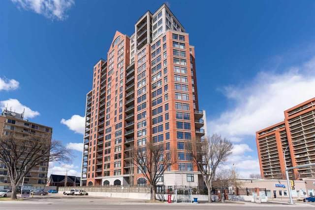 307 9020 Jasper Avenue, Edmonton, AB T5H 3S8 (#E4240233) :: Initia Real Estate