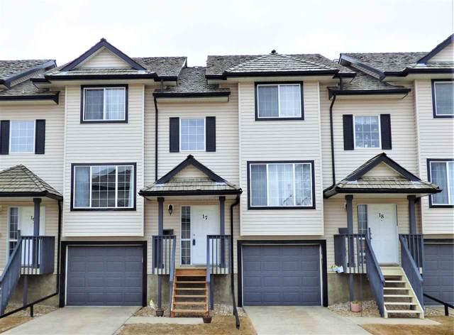 17 225 Blackburn Drive E, Edmonton, AB T6W 1H1 (#E4240251) :: Initia Real Estate