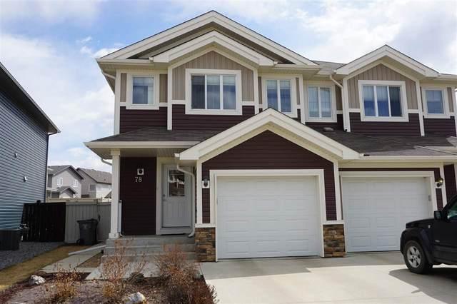78 Willows End, Stony Plain, AB T7Z 0H7 (#E4240296) :: Initia Real Estate