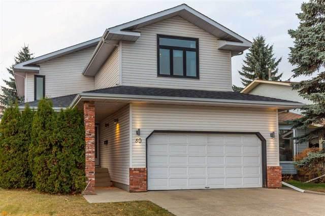 50 Wakina Drive, Edmonton, AB T5T 2X7 (#E4240435) :: Initia Real Estate