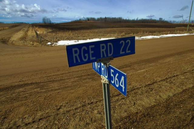 RR 22 TWP 564, Rural Lac Ste. Anne County, AB T0E 1A0 (#E4240555) :: Initia Real Estate