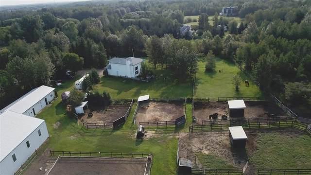 27 51511 RGE RD 264, Rural Parkland County, AB T5M 2T8 (#E4240667) :: Initia Real Estate