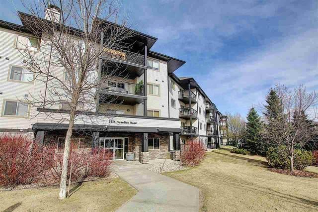 444 2436 Guardian Road, Edmonton, AB T5T 2P5 (#E4240772) :: Initia Real Estate