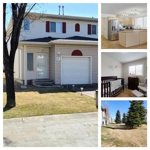 47 451 Hyndman Crescent, Edmonton, AB T5A 5J3 (#E4240783) :: Initia Real Estate
