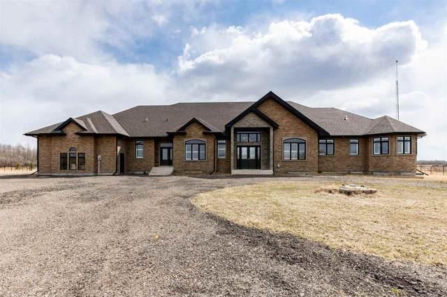 190 - 50509 RGE RD 222, Rural Leduc County, AB T0B 3M2 (#E4240878) :: Initia Real Estate