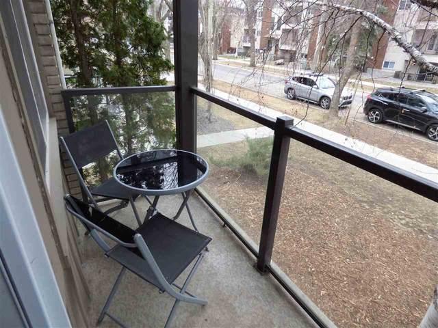 4 10515 80 Avenue, Edmonton, AB T6E 1V4 (#E4240902) :: Initia Real Estate