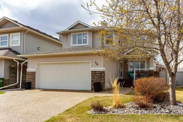 78 Kendall Crescent, St. Albert, AB T8N 7S1 (#E4240910) :: Initia Real Estate
