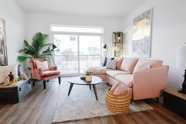 54 100 Jensen Lakes Boulevard, St. Albert, AB T8N 7T9 (#E4240999) :: Initia Real Estate