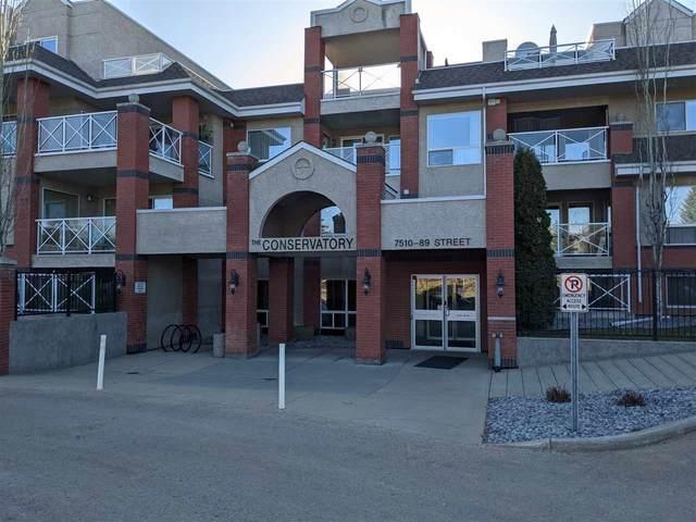 109 7510 89 Street, Edmonton, AB T6C 0X5 (#E4241049) :: Müve Team | RE/MAX Elite