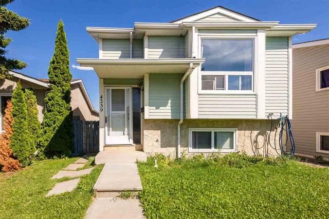 4239 38 Street W, Edmonton, AB T6L 4K3 (#E4241055) :: Initia Real Estate