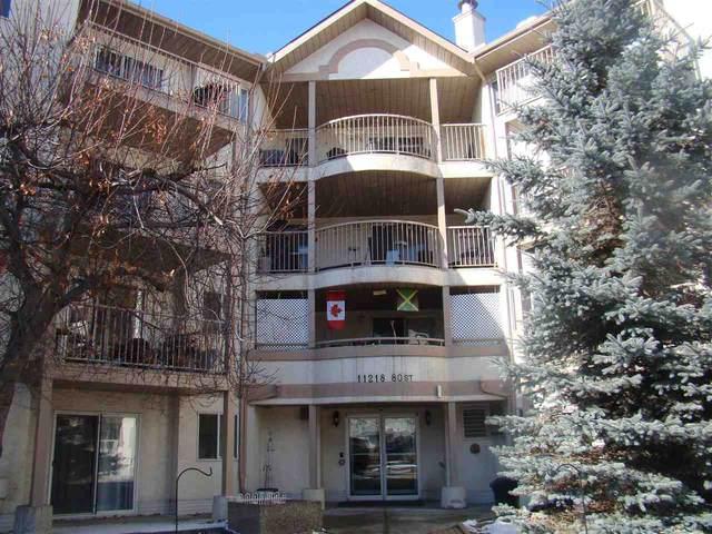 209 11218 80 Street, Edmonton, AB T5B 4V9 (#E4241143) :: Initia Real Estate