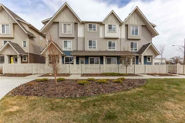 46 13003 132 Avenue, Edmonton, AB T5L 3R2 (#E4241370) :: Initia Real Estate