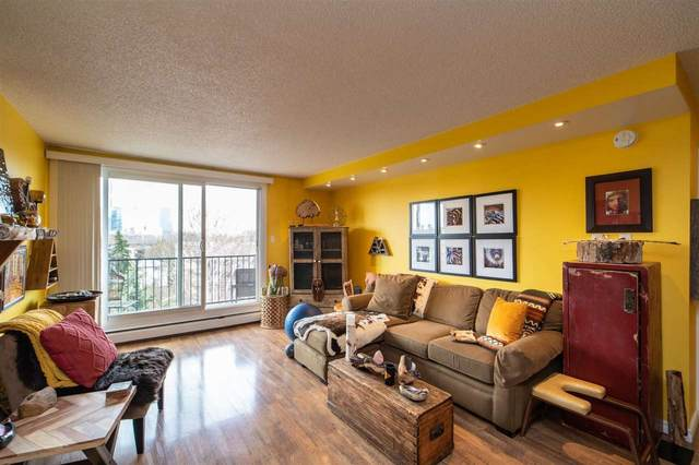 604 9028 Jasper Avenue, Edmonton, AB T5J 3Y6 (#E4241432) :: Initia Real Estate