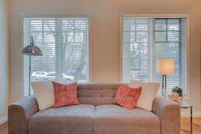 102 9811 96A Street NW, Edmonton, AB T6A 4A4 (#E4241464) :: Initia Real Estate
