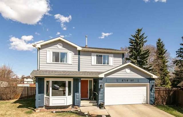 6719 187 Street NW, Edmonton, AB T5T 2M9 (#E4241584) :: Initia Real Estate