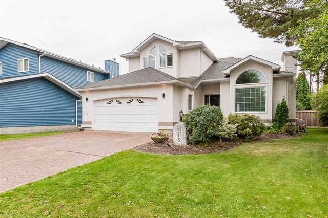 215 Heagle Crescent, Edmonton, AB T6R 1V3 (#E4241702) :: Initia Real Estate