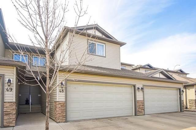 48 445 Brintnell Boulevard, Edmonton, AB T5Y 0V5 (#E4241728) :: Initia Real Estate