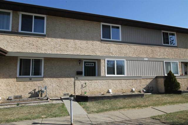 71 8930 99 Avenue, Fort Saskatchewan, AB T8L 3L1 (#E4241778) :: Initia Real Estate