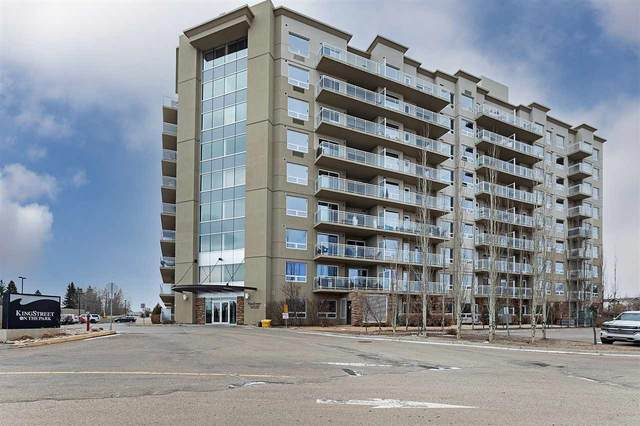 #911 33 Fifth Avenue, Spruce Grove, AB T7X 2C5 (#E4241823) :: Initia Real Estate