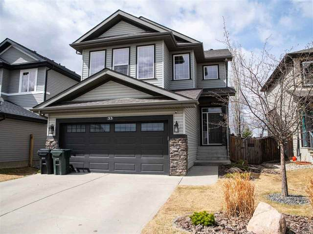 33 Hartwick Way Way, Spruce Grove, AB T7X 0A5 (#E4241916) :: Initia Real Estate