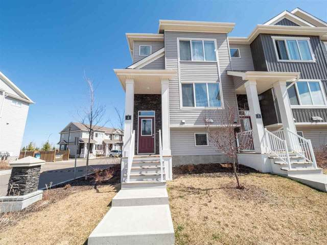 4-2121 Haddow Drive, Edmonton, AB T6R 0W6 (#E4241980) :: Initia Real Estate