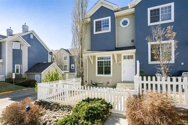 75 8304 11 Avenue, Edmonton, AB T6X 1J8 (#E4241990) :: Initia Real Estate