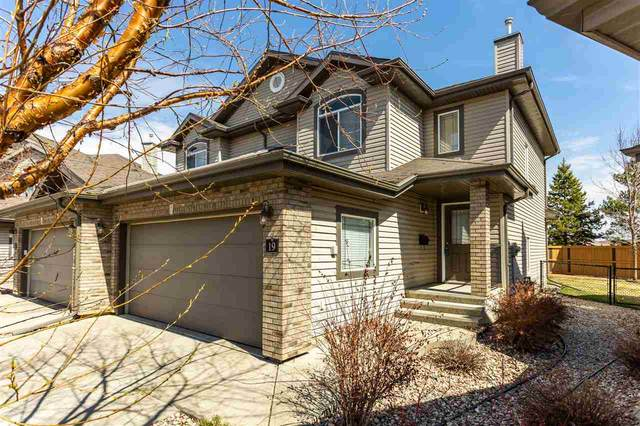 19 20 Norman Court, St. Albert, AB T8N 7K4 (#E4242007) :: Initia Real Estate