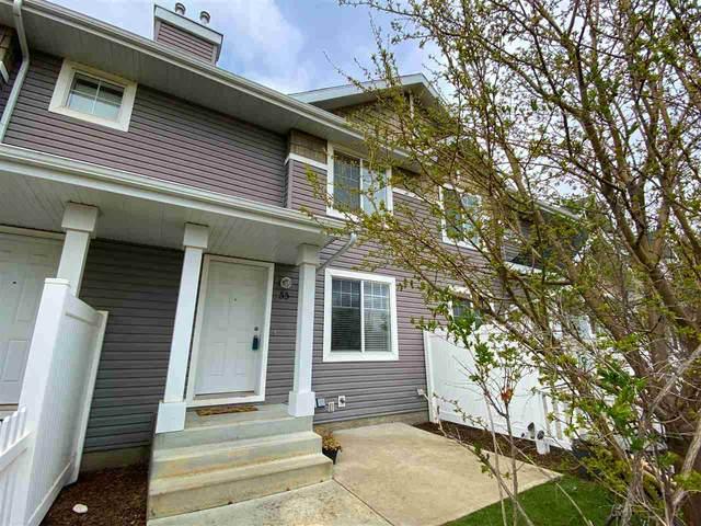 55 3075 Trelle Crescent, Edmonton, AB T6R 3V5 (#E4242100) :: Initia Real Estate