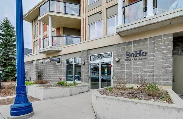 306 9750 94 Street, Edmonton, AB T6C 2E3 (#E4242149) :: Initia Real Estate