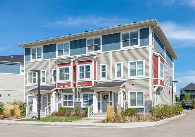 25 3710 Allan Drive, Edmonton, AB T6W 2C4 (#E4242155) :: Initia Real Estate