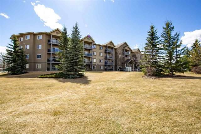 409 279 Suder Green Drive NW, Edmonton, AB T5T 6X6 (#E4242160) :: The Good Real Estate Company