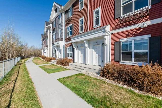 30 8315 180 Avenue, Edmonton, AB T5Z 0J2 (#E4242238) :: Initia Real Estate