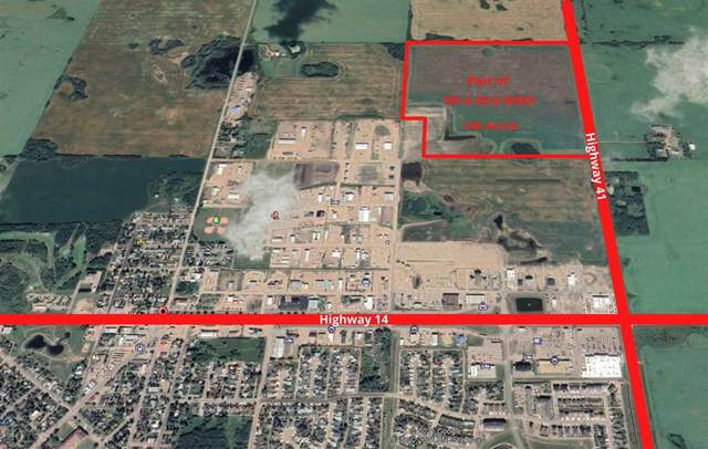 23 Street & 23 Ave Bordering Hwy 41, Rural Wainwright M.D., AB T9W 1E3 (#E4242260) :: RE/MAX River City