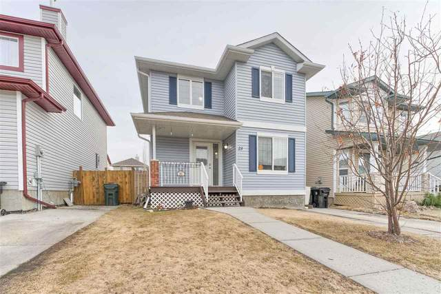 23 Vega Avenue, Spruce Grove, AB T7X 4R8 (#E4242336) :: Initia Real Estate