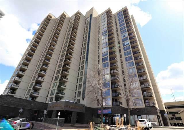809 10149 Saskatchewan Drive, Edmonton, AB T6E 6B6 (#E4242345) :: Initia Real Estate