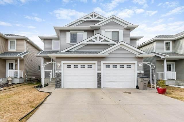 14 5101 Soleil Boulevard, Beaumont, AB T4X 0E3 (#E4242408) :: Initia Real Estate