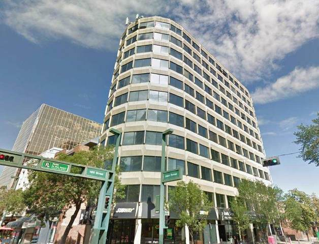 304 10106 105 Street, Edmonton, AB T5J 1C9 (#E4242513) :: The Good Real Estate Company