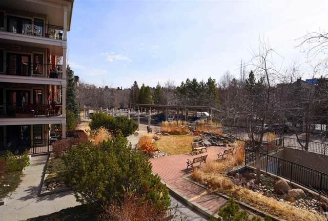 207 9819 96A Street, Edmonton, AB T6A 4A2 (#E4242539) :: The Good Real Estate Company