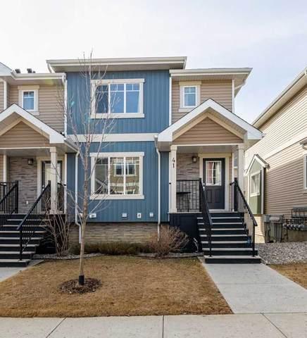 41 9535 217 Street, Edmonton, AB T5T 4P5 (#E4242574) :: Initia Real Estate