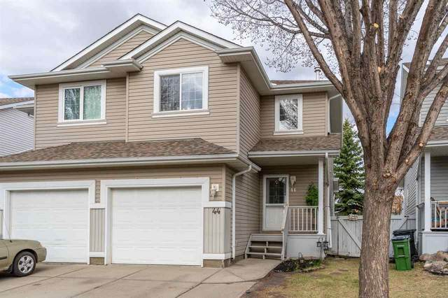 44 4020 21 Street, Edmonton, AB T6T 1T8 (#E4242645) :: Initia Real Estate