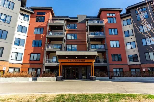 115 5 St Louis Street, St. Albert, AB T8N 7T2 (#E4242676) :: Initia Real Estate