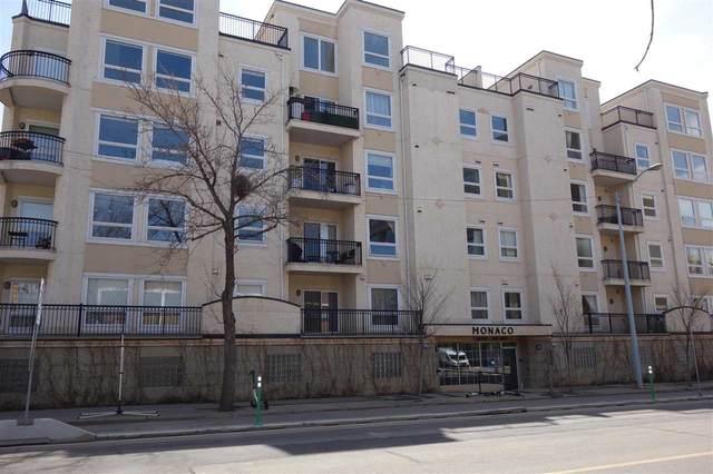 202 10707 102 Avenue, Edmonton, AB T5J 5E4 (#E4242722) :: The Good Real Estate Company
