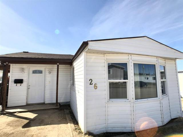 26 4405 50 Avenue, Cold Lake, AB T9M 1P1 (#E4242742) :: Initia Real Estate