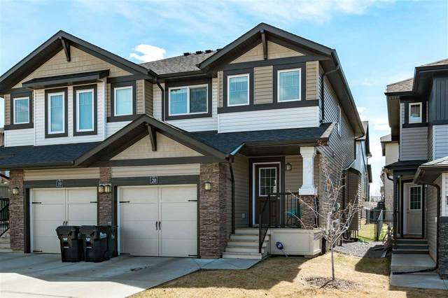 20 21 Augustine Crescent, Sherwood Park, AB T8H 0X3 (#E4242777) :: The Foundry Real Estate Company