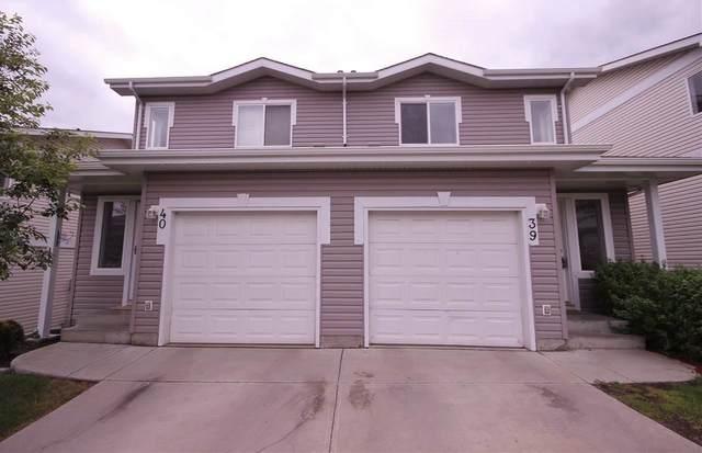 39 130 Hyndman Crescent, Edmonton, AB T5A 0E8 (#E4242816) :: Initia Real Estate