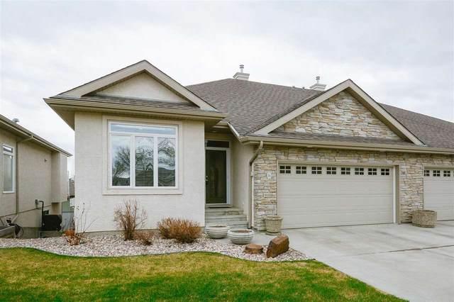 16 61 Lafleur Drive, St. Albert, AB T8N 0X5 (#E4242837) :: Initia Real Estate
