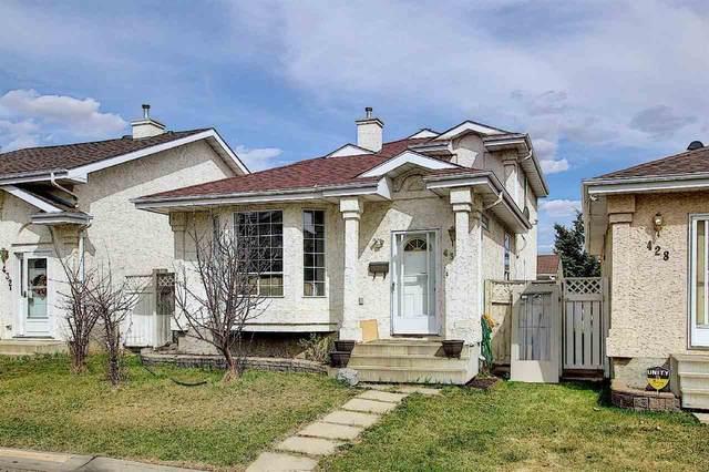 430 River Point(E), Edmonton, AB T5A 4Z4 (#E4242853) :: Initia Real Estate