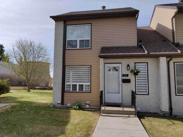 14 1651 46 Street, Edmonton, AB T6L 5H2 (#E4242915) :: Initia Real Estate
