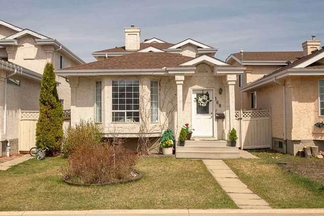 168 River Point(E), Edmonton, AB T5A 4Y5 (#E4242953) :: Initia Real Estate